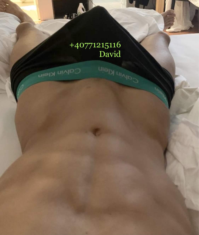 Escorta Oras: BUCURESTI - Escorta Telefon: 0771215116 -  Servicii Escorta : Salut, ma numesc David , 26 ani , muscular , doar activ cu locatie in sectorul 6 Bucuresti Va ofer masaj de relaxare erotic si multe alte fantezii, trebuie doar sa fi decis ce vrei! Anuntul este valabil doar pentru Bucuresti ! Nu raspund la numere private ! Nu trimit poze xxx! Cei ce au pofta de caterinca vor fi blocati! Mai multe detalii va astept la telefon sau whatsApp! Multumesc!